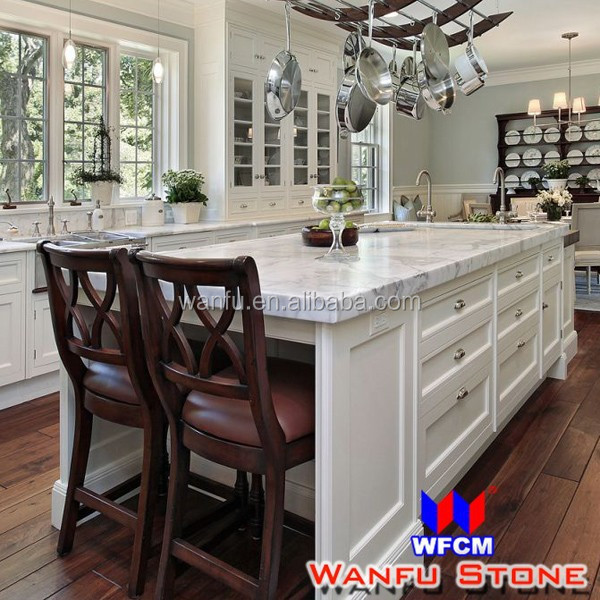 Kitchen White Color Marble Stone Countertop