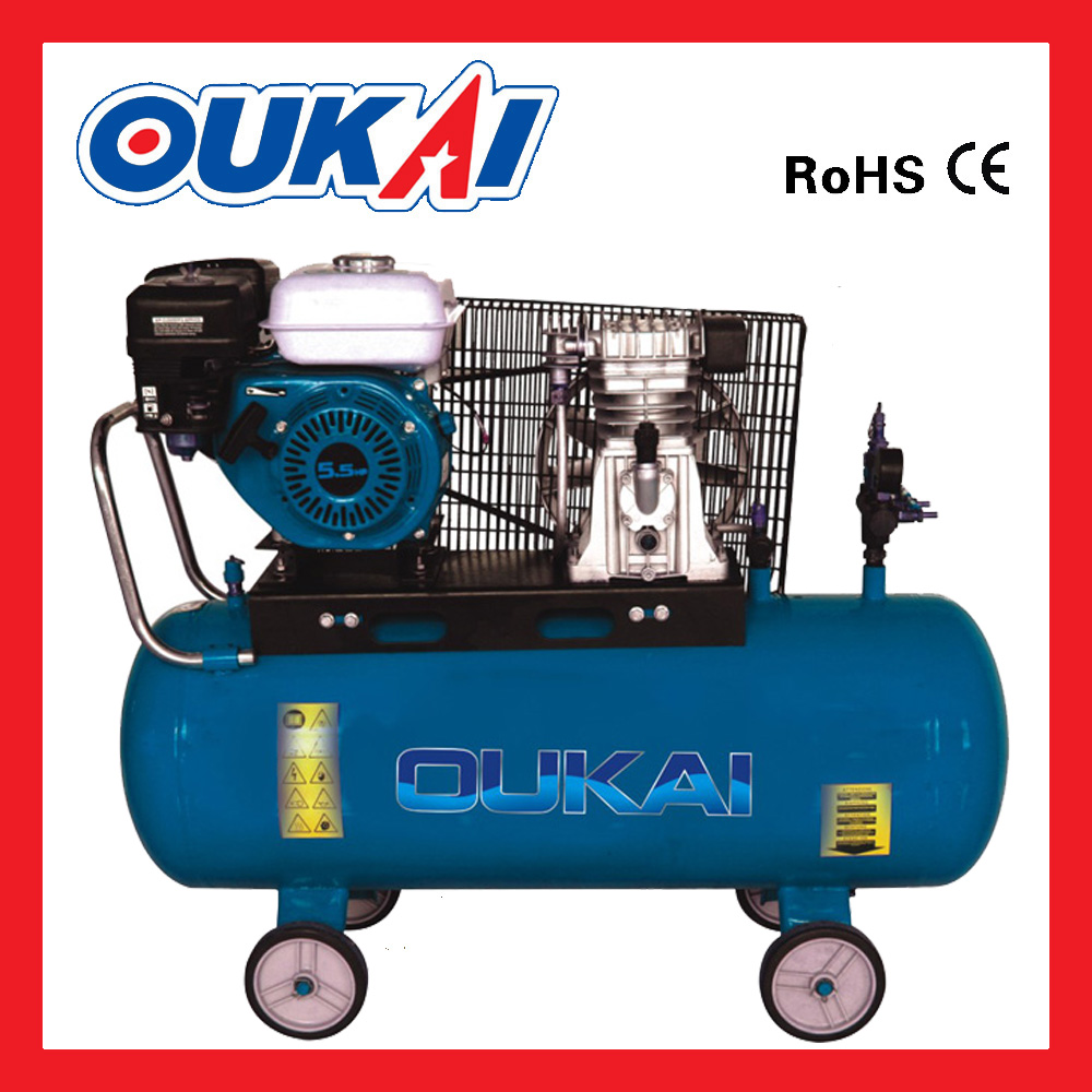 Energy saving MB-2065G 200L CE aproved belt drive piston portable Air compressor