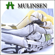 Mulinsen Textile 2014 New Hot Woven Printed Crepe 100 % Pure Silk Fabric