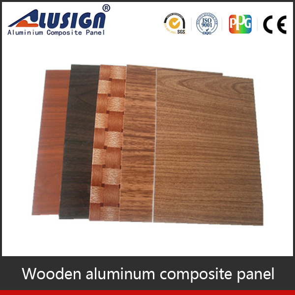 insulated aluminum panels nomex honeycomb core wood composite material
