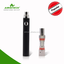 Ceramic donut coils china wholesale e cigarette 650mah Ego battery with tank atomizer