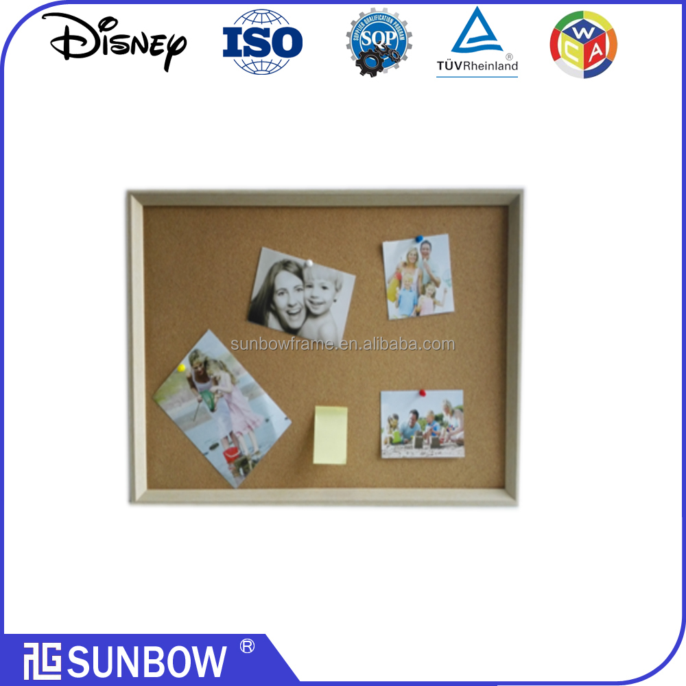 wholesale corkboard black board MDF picture frame