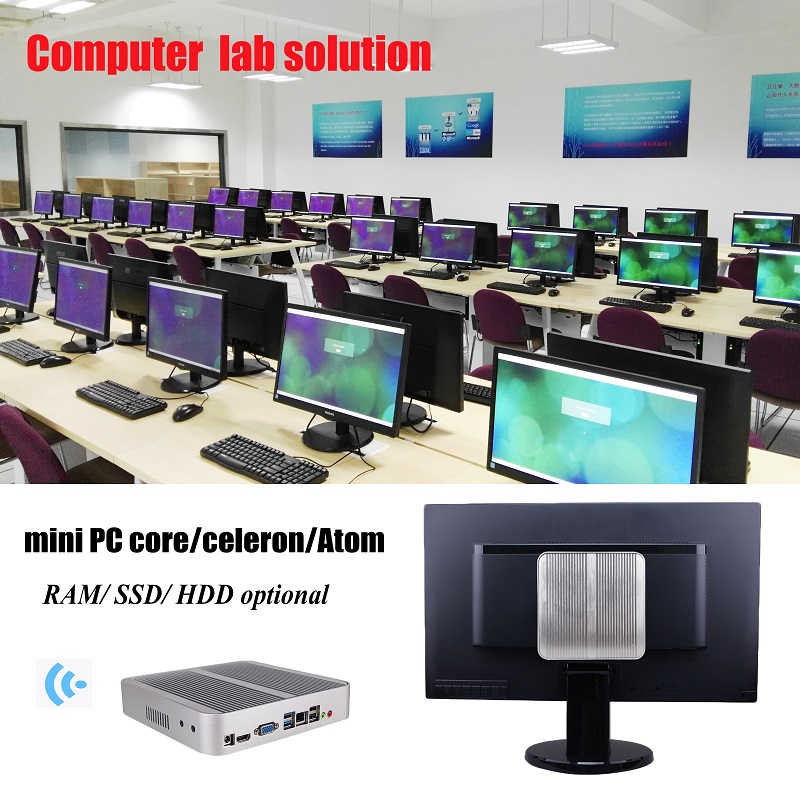 Virtual deskop zero client s100 for computer lab solution with 45 user pc terminals