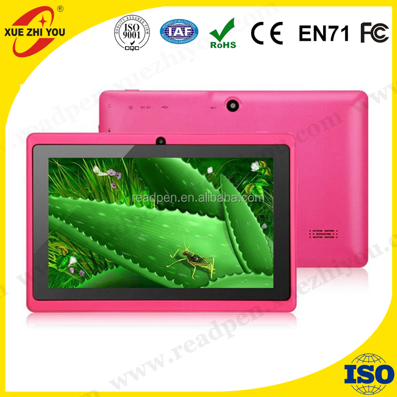 "7"" tablet pc Q88 Cheap 7 inch Tablet Quad Core 1.3GHz 1024*600 Android 4.4 512 RAM 8GB"