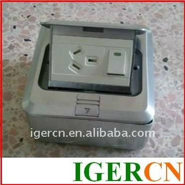 pop-up multi floor sockets box HGD-1FL with CE