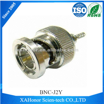 BNC 75ohms Male RF connector For SFF-50-1 Cable