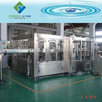 Automatic 3 in 1 carbonated soft drink PET bottle filling line/system/plant