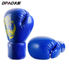 Wholesale high quality PU leather boxing personalized custom printed ufc mma fighting boxing gloves