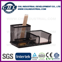 Factory direct customized metal mesh desk organizer
