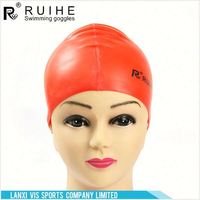 New product simple design unisex silicone swimming cap for sale