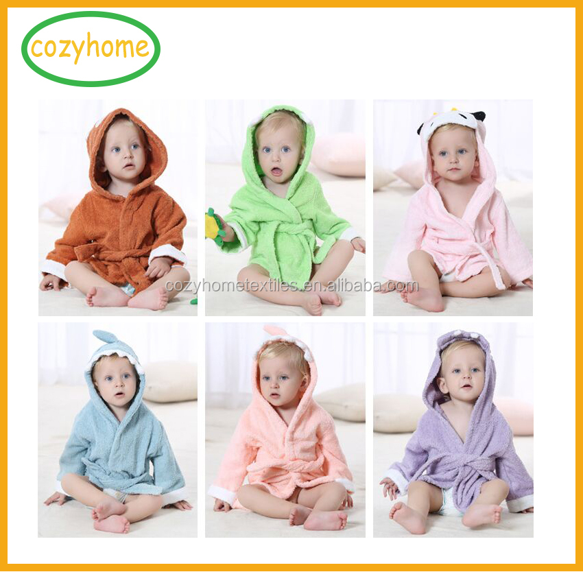 Christmas Infant 100% cotton comfortable anamil baby bathrobes, sleepwear,night dress jumpsuit super soft luxury babyrobes