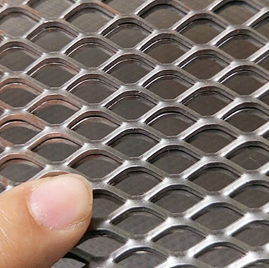Expanded Metal Fence Panels Architectural Perforated Metal And Expanded Metal Wall Panels ( Anping factory )