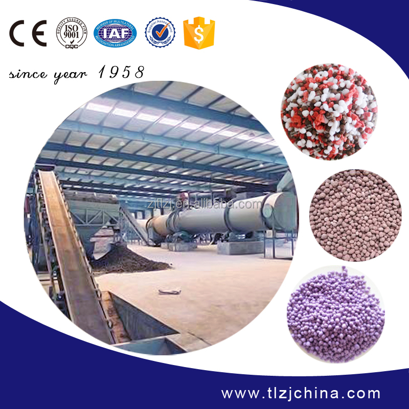Professional Compound fertilizer production line 10000-300000 ton/year