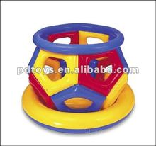 PVC inflatable cheap round indoor giant bouncer for kids