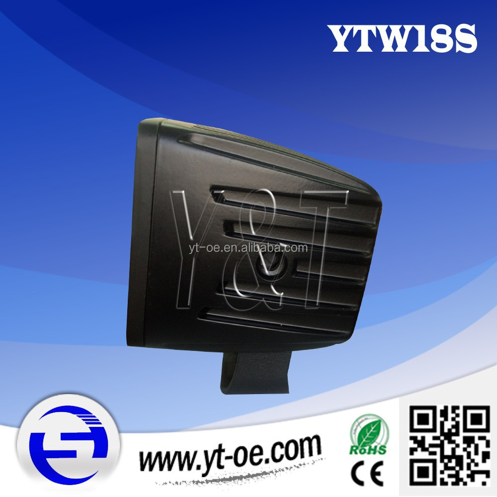 Y&T YTW18S 18W Super bright led offroad light for mitchell auto repair software
