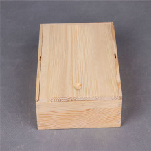 small wooden coffee bean packing box