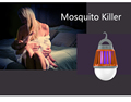 Mosquito Zapper Light with Rechargeable Power for Outdoor