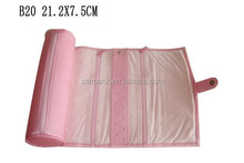 Hot Design Leather Jewelry Roll or Bag For Earring B20