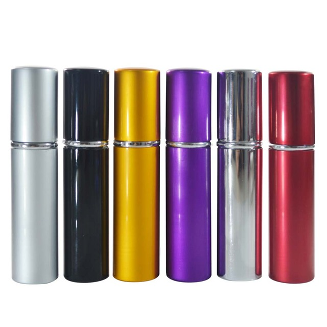 Mini 10ML Refillable Perfume Atomizer Spray Bottles for Travel Accessories Scent Pump Cosmetic Container