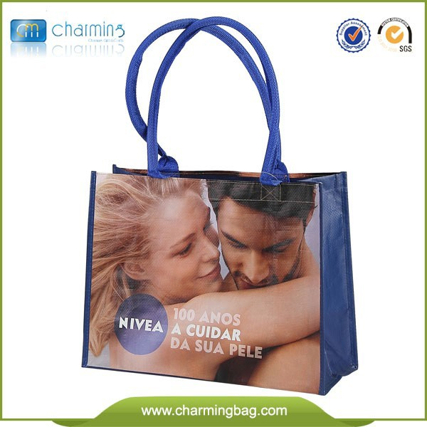 Customized Pictures Printing Advertising bag ,pp woven shopping bag,promotion bag
