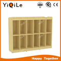 Simple maple wood storage cabinet Twelve cases used fireproof cabinets supplier