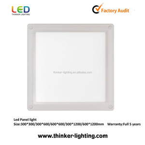 18w Dimmable High CRI Ultra Thin 5Years Warranty 300*300 LED Panel Light
