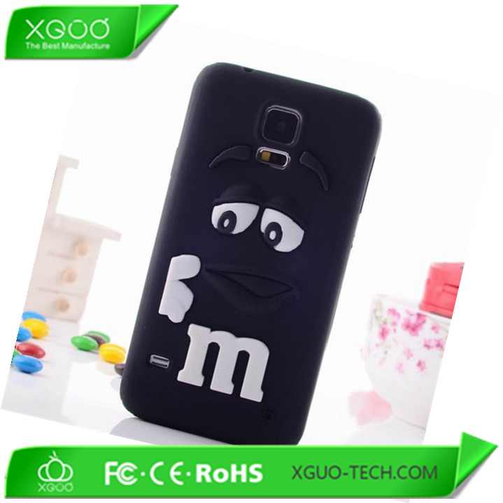 silicone back cover for samsung galaxy s5 soft case