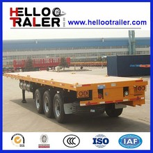 2016 Factory Selling New 40ft Tri-axle Trailer Truck 40 Tons for Africa
