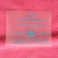 PET transparent film iron on heat transfer sticker with RN#