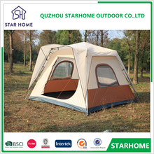 Super grade 5-8 person luxury camping tipi camp tent