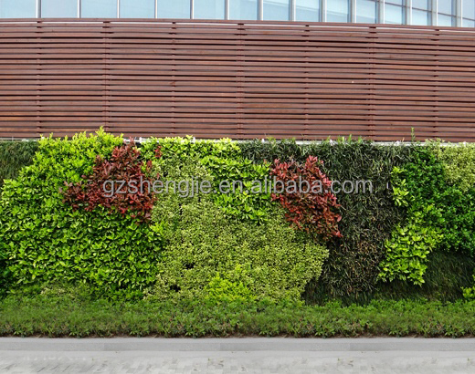 artificial planter vertical wall artificial plant wall in good quality for decoration
