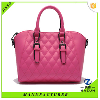 New products designer leather lady tote bag handbag