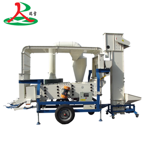 Seed Cleaning Machine for Wheat Maize Soybean Sesame Grain Seed Cleaner