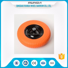 wheel barrow solid pu foam wheel 4.00-8
