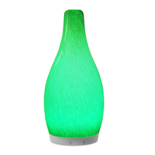 Bluetooth Function Rechargeable Cordless Glass Table Lamp for Hotel