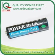 zinc chloride heavy duty AA zinc carbon dry cell battery