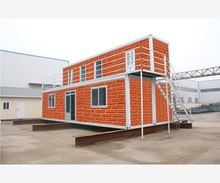 deployable within portable emergency low cost 40ft Trade Assurance container houses complete
