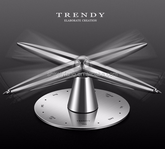 Focus Hands Busy Tri-Spinner Office Gel Pen EDC Toys Set Stress Reliever Gift Toy For Kids Adults