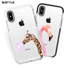 2018 Newest Customized Design Cases with black camera protector TPE soft cover for iphone 8 plus X case