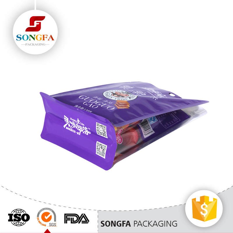 Food grade Dry Fruit packaging stand up plastic bag