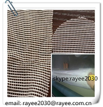 Reinforced mesh fabric, warp knitted polyester spandex fabric, warp knitted polyester