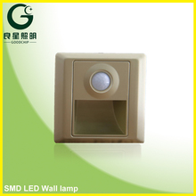 High Quality Battery Backup Led Emergency Wall Lamp Home White