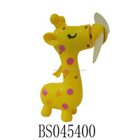 Summer Mini mist fan animals design cooling fans water spray toy fans