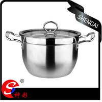 2pcs Durable Beautiful Good Quality Cheap Price Stainless Steel Cookware