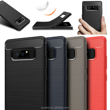XDDZ New Hot Selling Durable Carbon Fiber Case For Samsung Galaxy Note 8 TPU Case