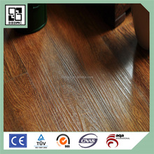 3mm dry back vinyl flooring edge beveled plastic wood plank flooring