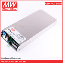 Meanwell SMPS PFC Function 1000W 24V DC Power Supply RSP-1000-24