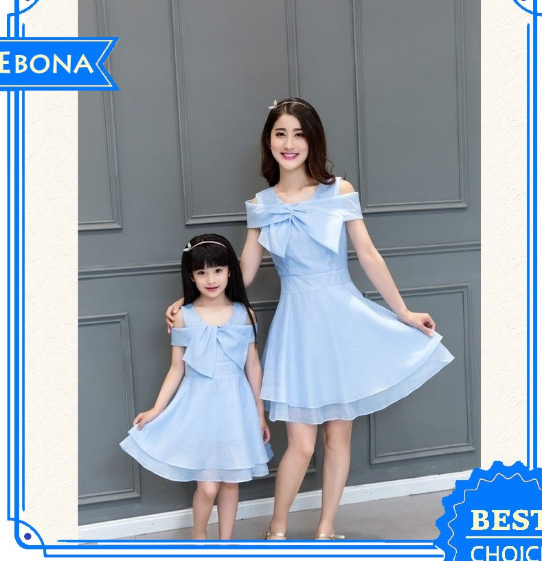 Casual Dress 2016 wholesale High Quality Mother and Child Dress