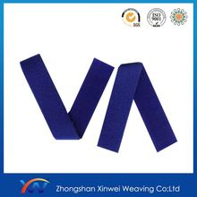 "5/8"" self-adhesive hook and loop elastic band"