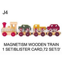 TOYS FOR KID (J4) MAGNETISM WOODEN TRAIN